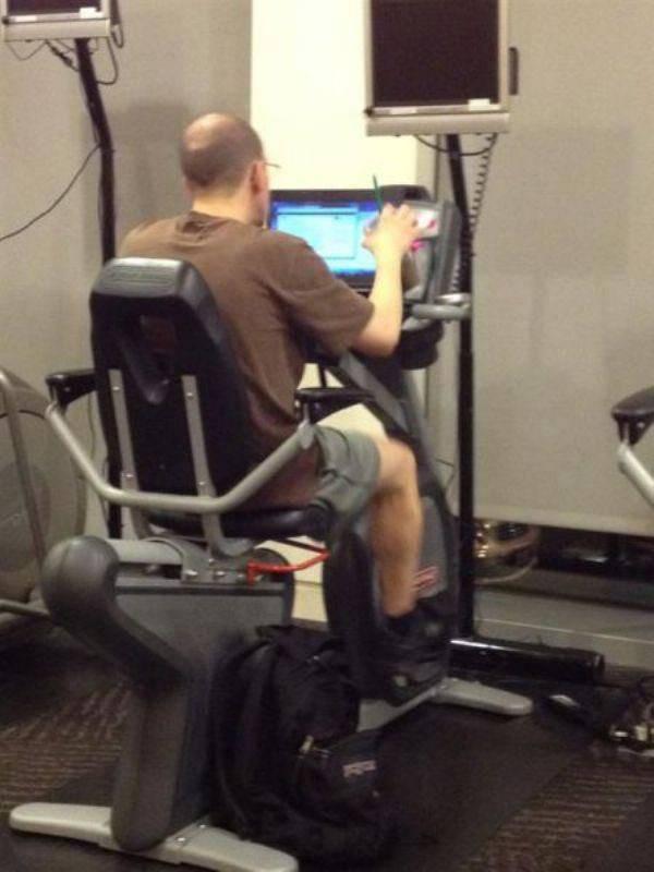 Na siłowni #2 9