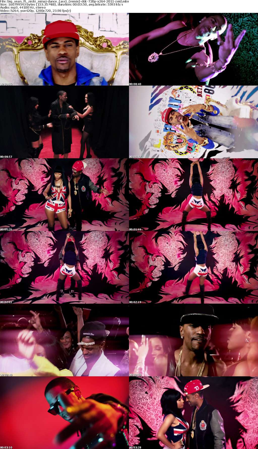 Big Sean ft Nicki Minaj-Dance (Ass) (Remix)-DDC-720p-x264-2011-ZViD