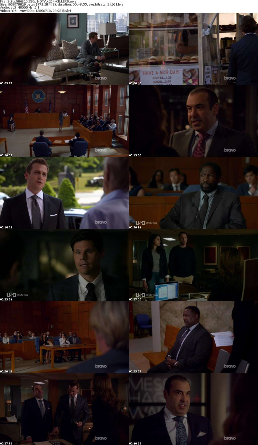 Suits S06E10 720p HDTV x264-KILLERS