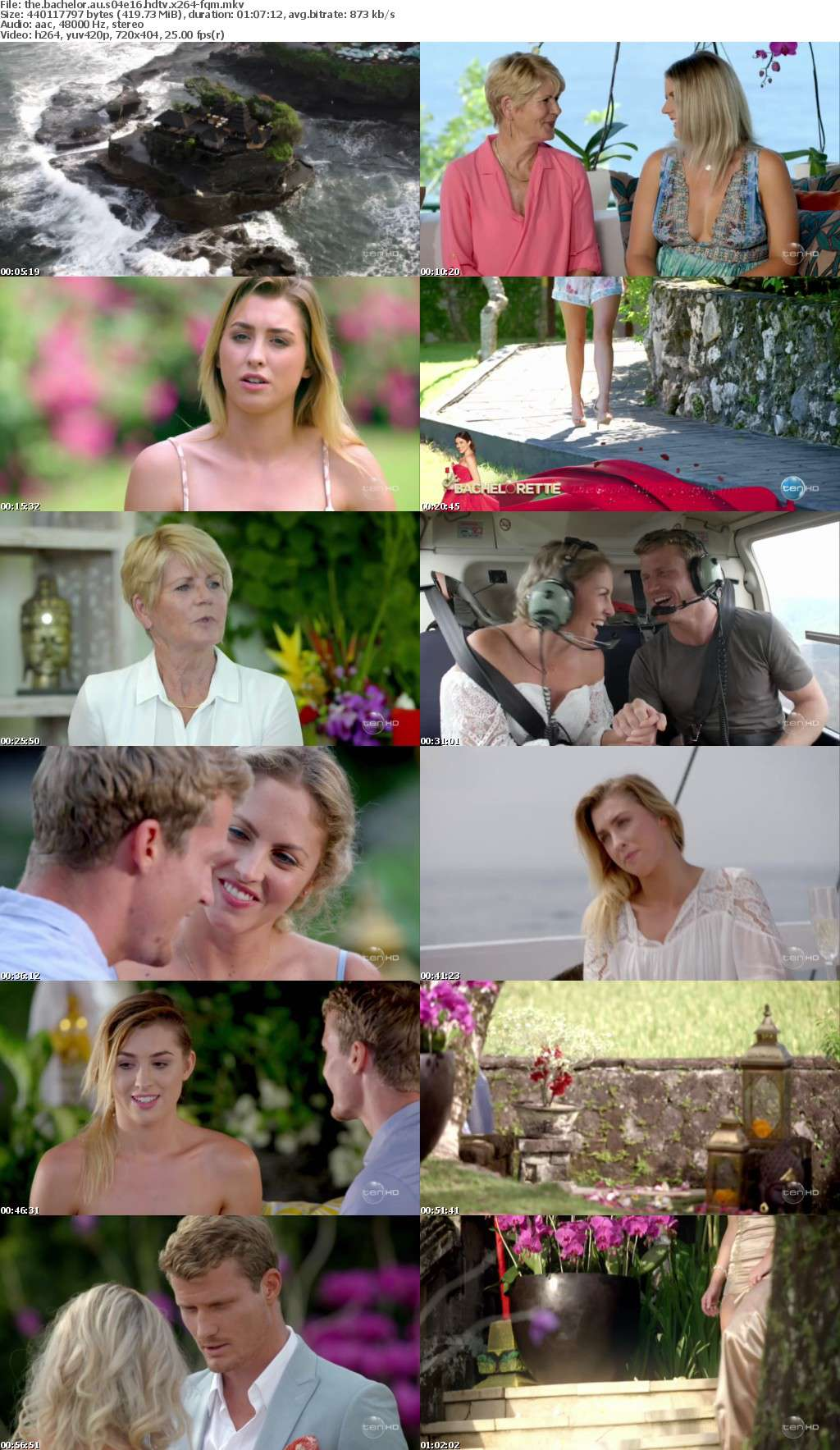 The Bachelor AU S04E16 HDTV x264-FQM