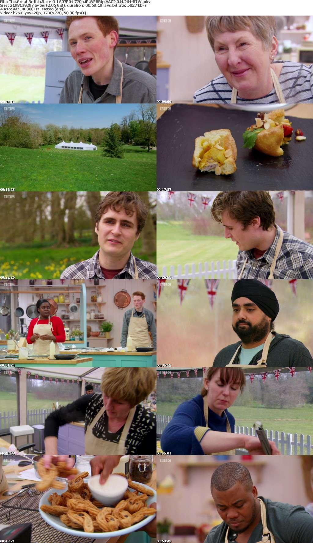 The Great British Bake Off S07E04 720p iP WEBRip AAC2 0 H 264-BTW