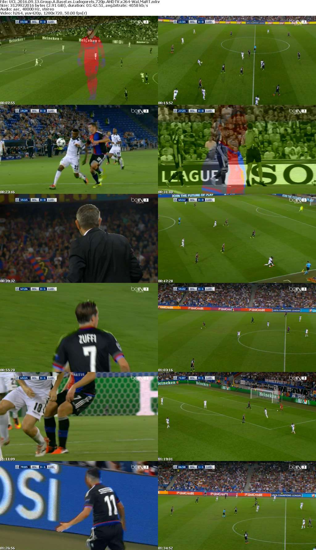 UCL 2016 09 13 Group A Basel vs Ludogorets 720p AHDTV x264-WaLMaRT