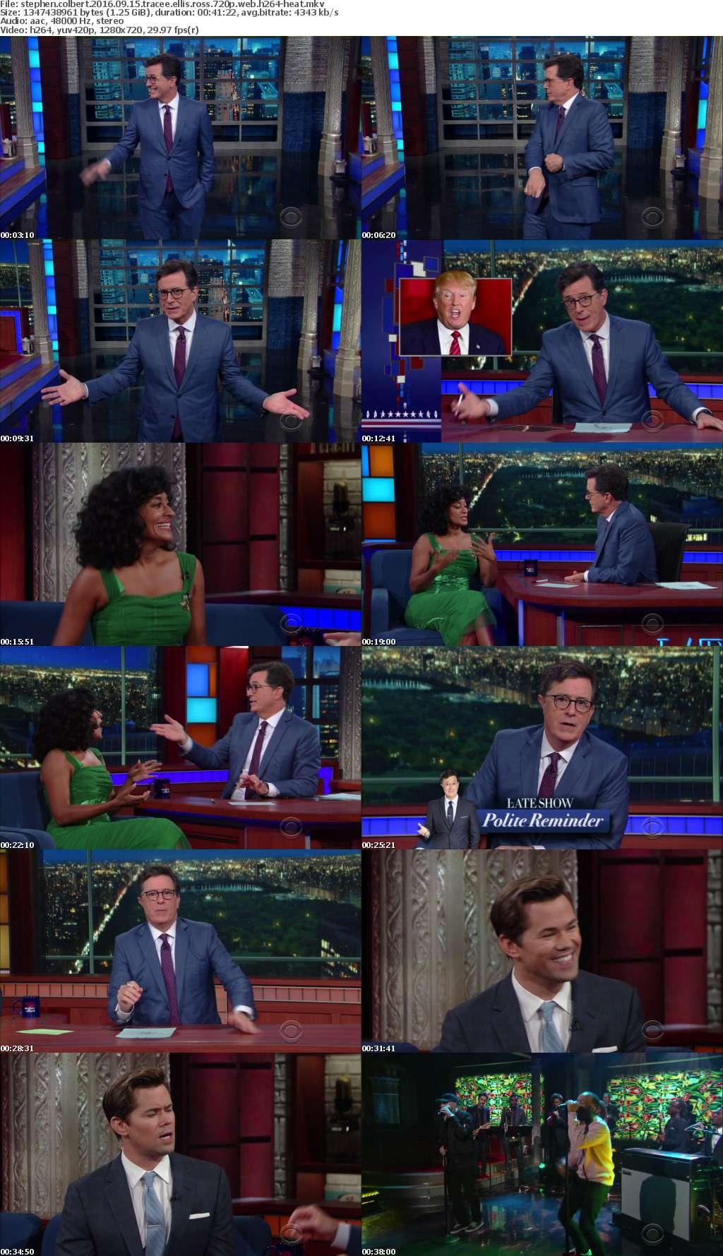 Stephen Colbert 2016 09 15 Tracee Ellis Ross 720p WEB h264-HEAT