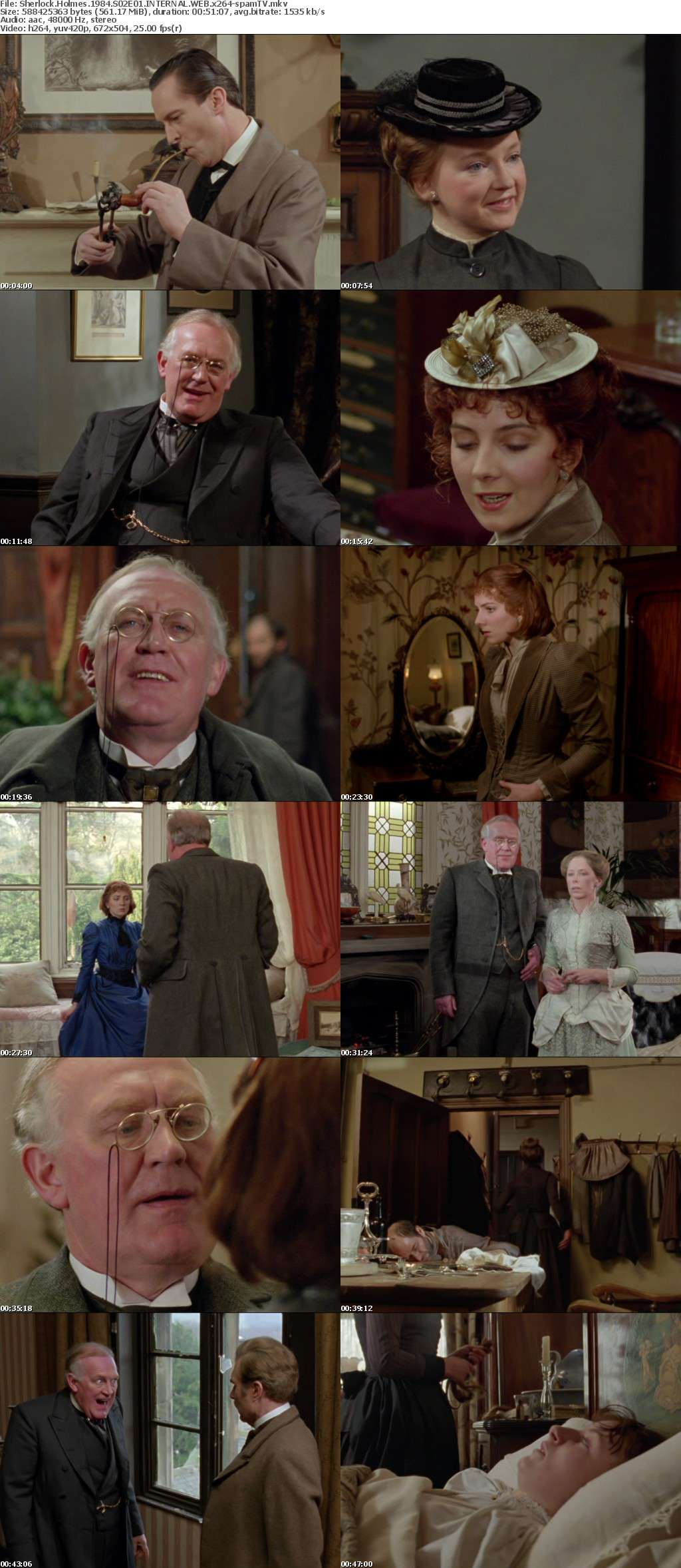 Sherlock Holmes 1984 S02E01 INTERNAL WEB x264-spamTV