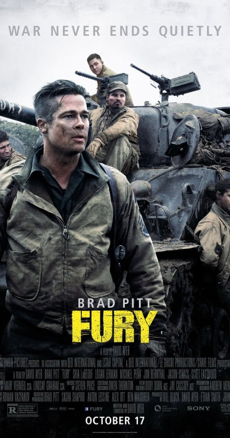 Fury 2014 BluRay 1080p HEVC DD 5 1 D3FiL3R