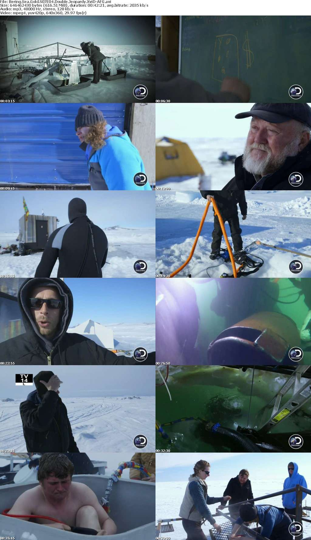 Bering Sea Gold S07E04 Double Jeopardy XviD-AFG