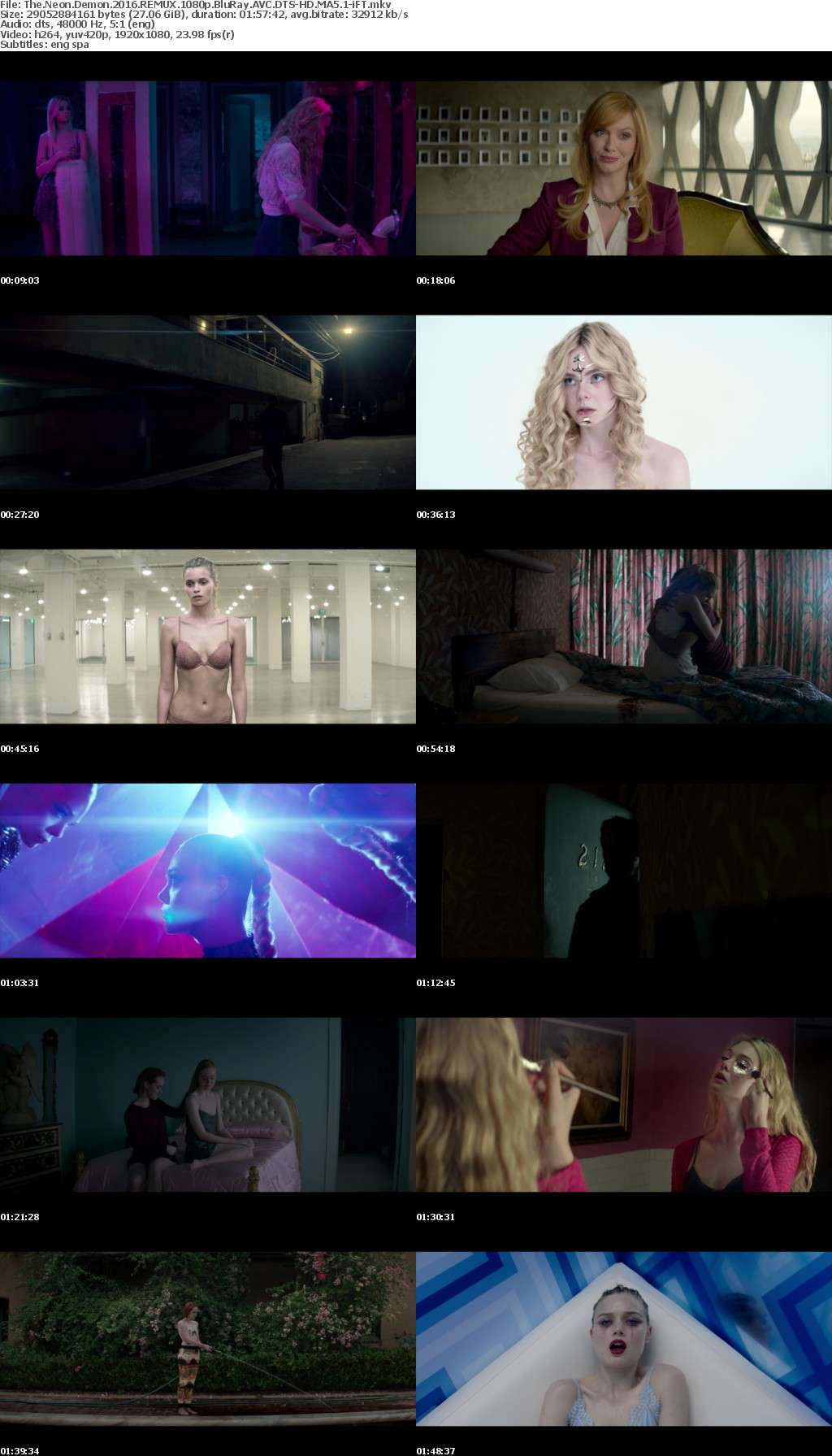 The Neon Demon 2016 REMUX 1080p BluRay AVC DTS-HD MA5 1-iFT