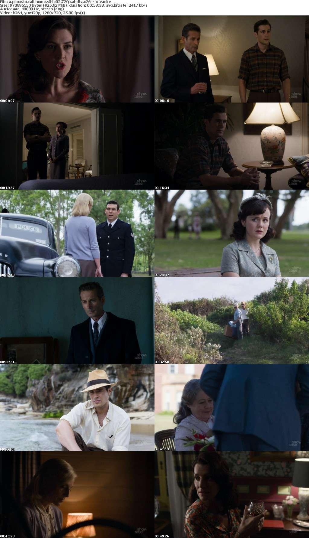 A Place To Call Home S04E02 720p AHDTV x264-FUtV
