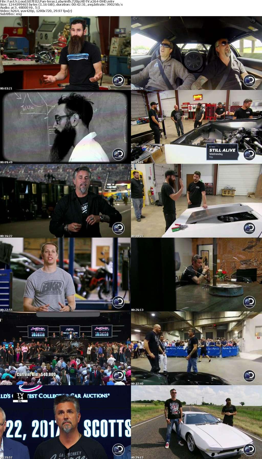 Fast N Loud S07E02 Pan-teras Labyrinth 720p HDTV x264-DHD