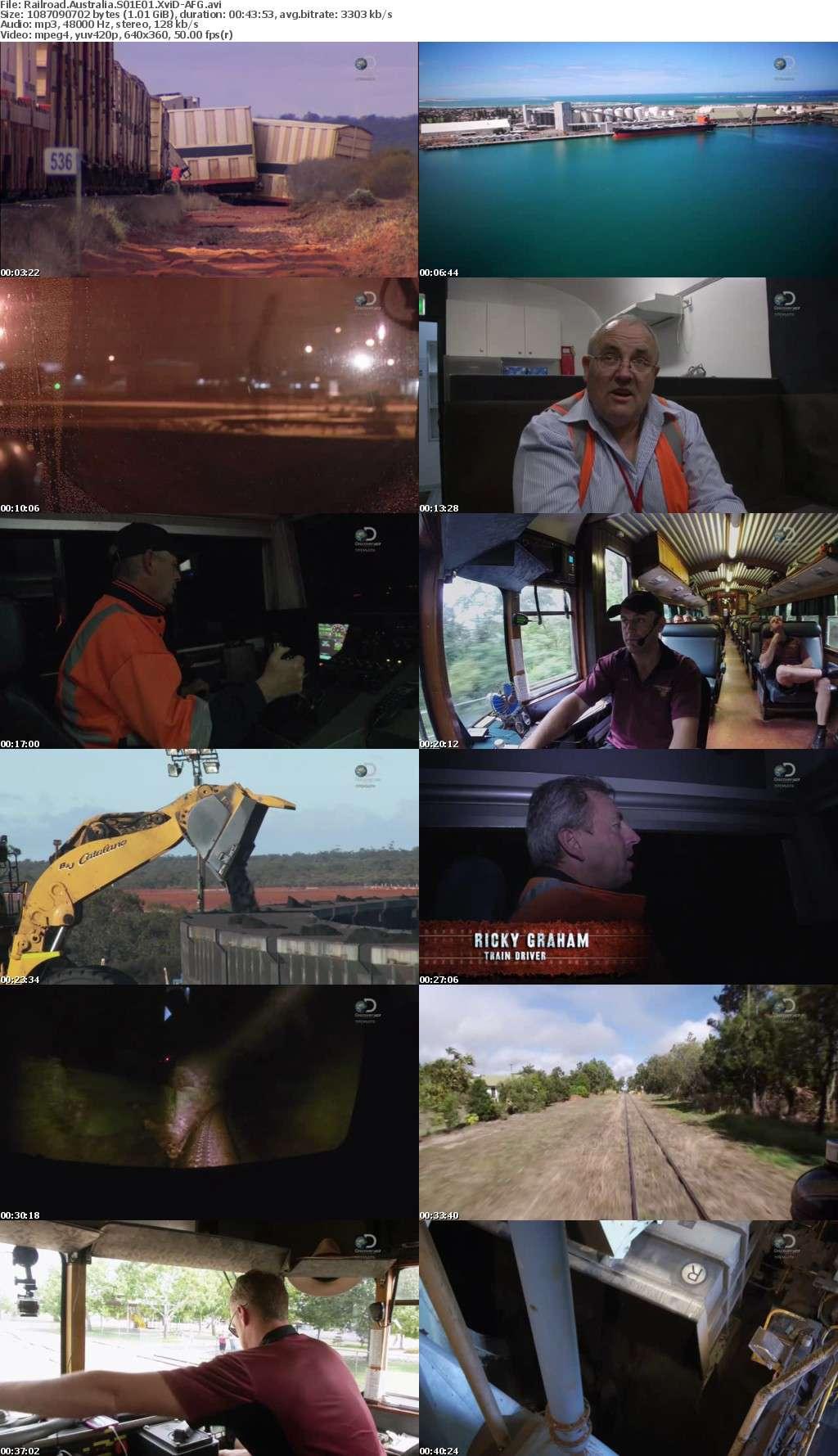 Railroad Australia S01E01 XviD-AFG