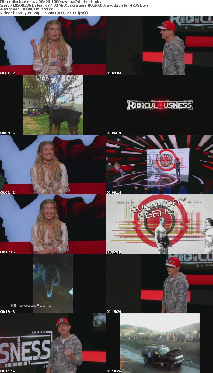Ridiculousness S08E26 1080p WEB x264-HEAT
