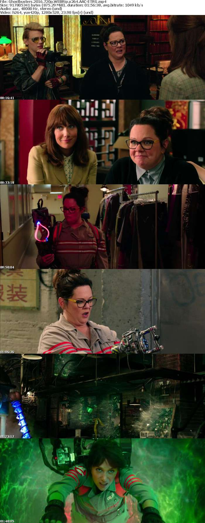 Ghostbusters 2016 720p WEBRip x264 AAC ETRG