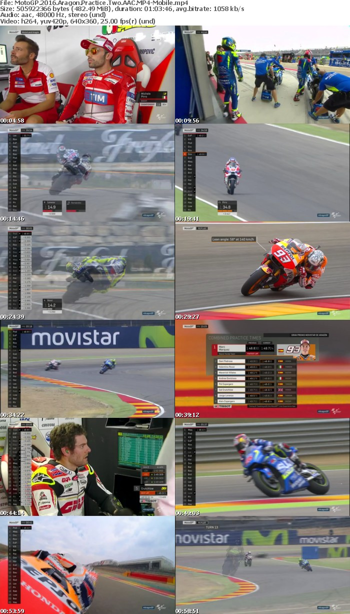 MotoGP 2016 Aragon Practice Two AAC-Mobile