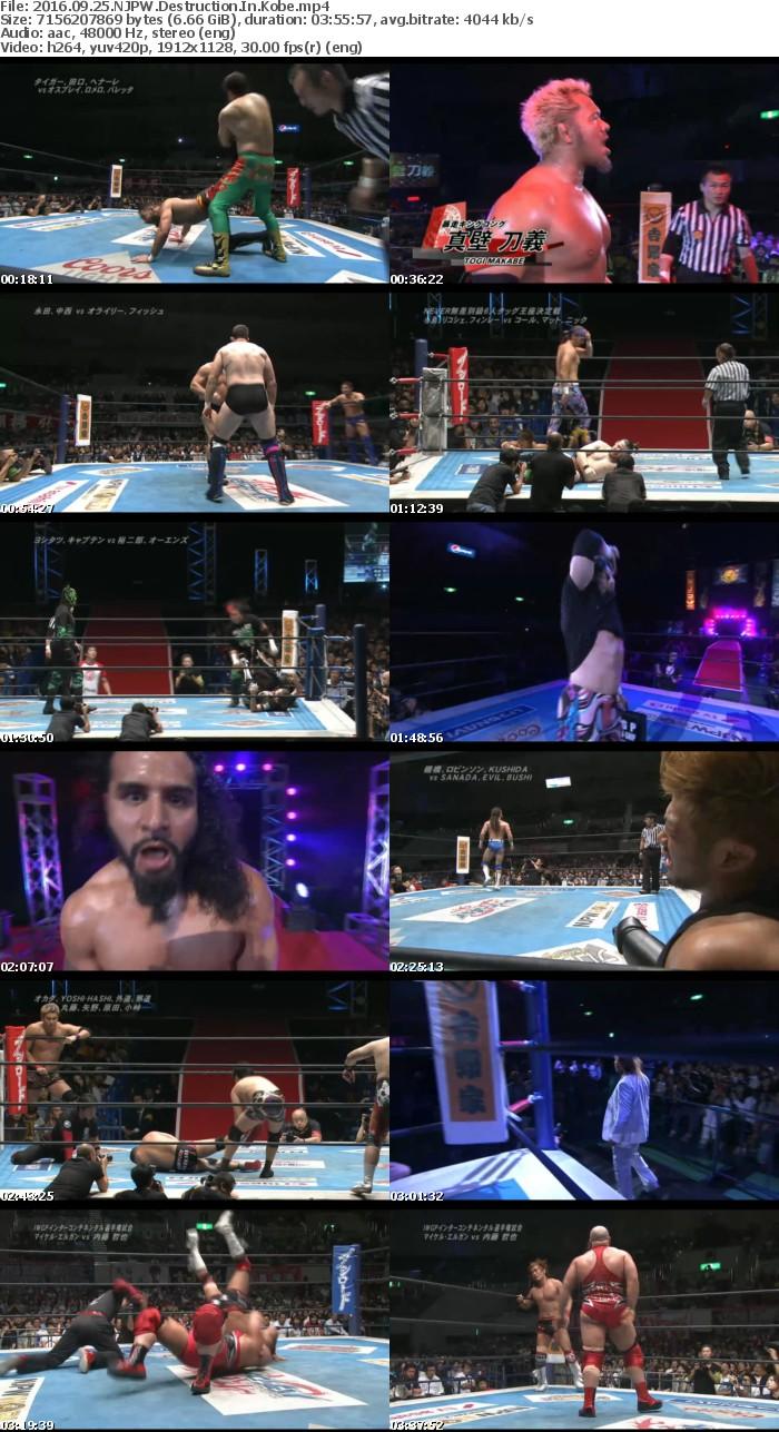 2016 09 25 NJPW Destruction In Kobe