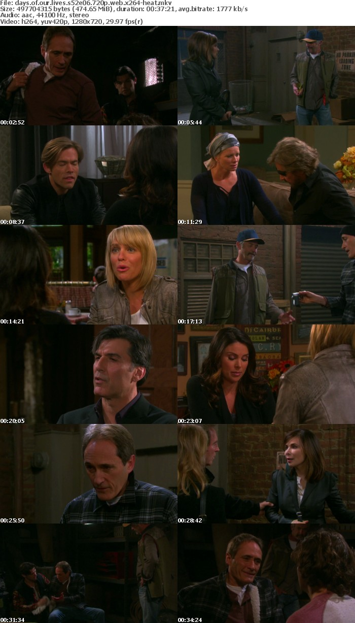 Days of our Lives S52E06 720p WEB x264-HEAT