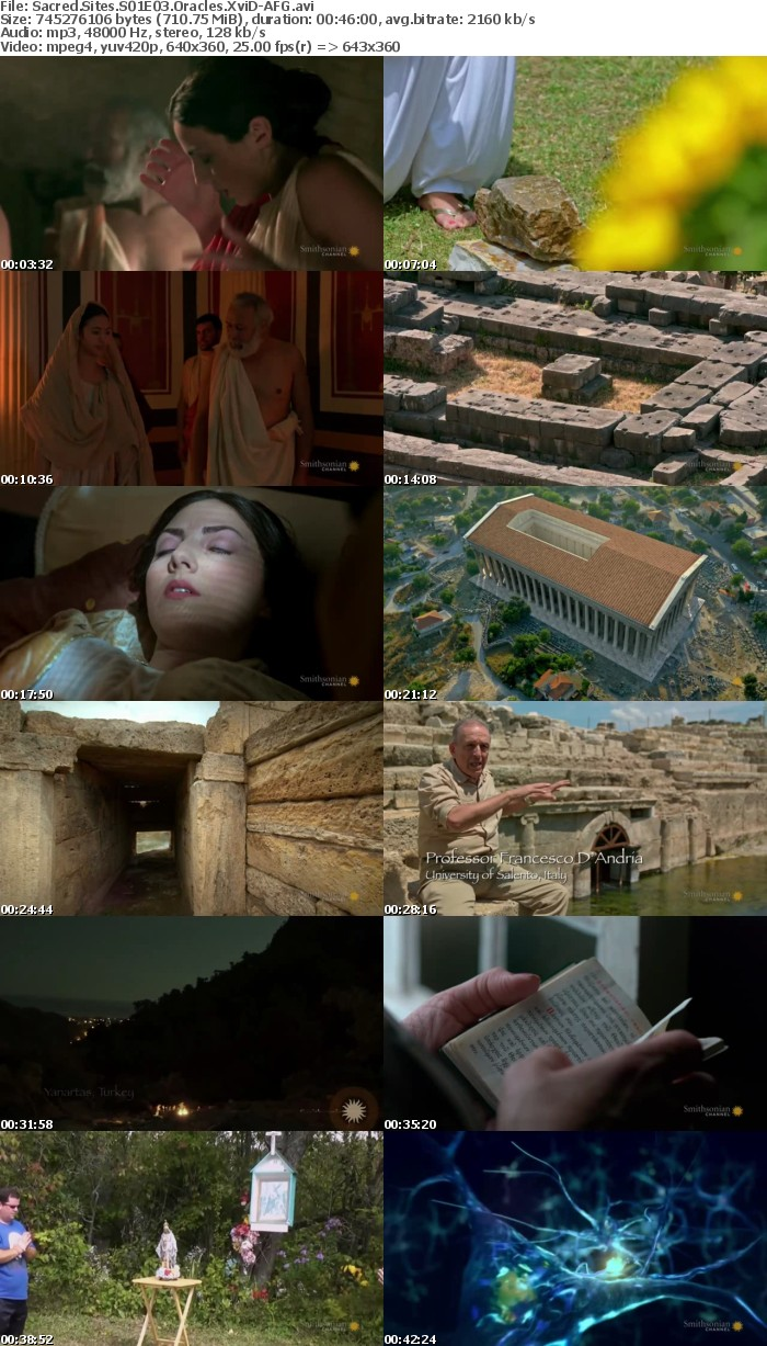 Sacred Sites S01E03 Oracles XviD-AFG