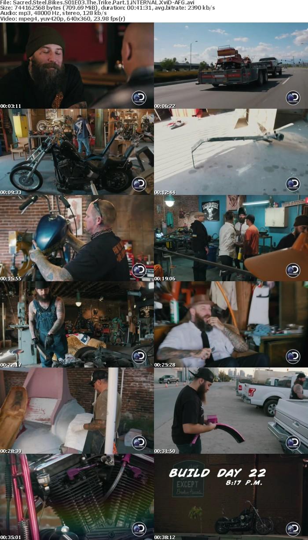 Sacred Steel Bikes S01E03 The Trike Part 1 iNTERNAL XviD-AFG