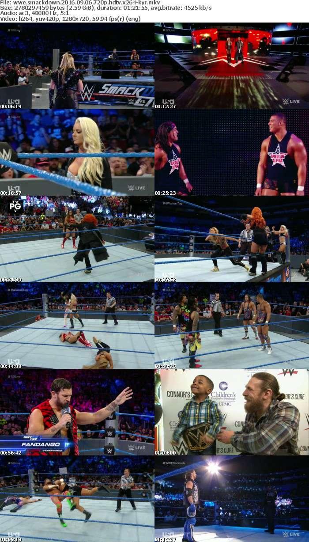 WWE SMACKDOWN SEPTEMBER 2016 Pack 720p x264