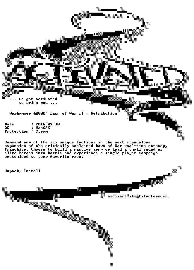 Warhammer 40000 Dawn of War II Retribution MacOSX-ACTiVATED