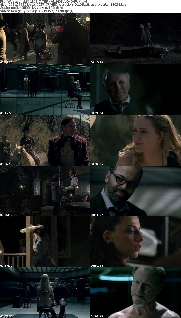 Westworld S01E01 HDTV XviD FUM