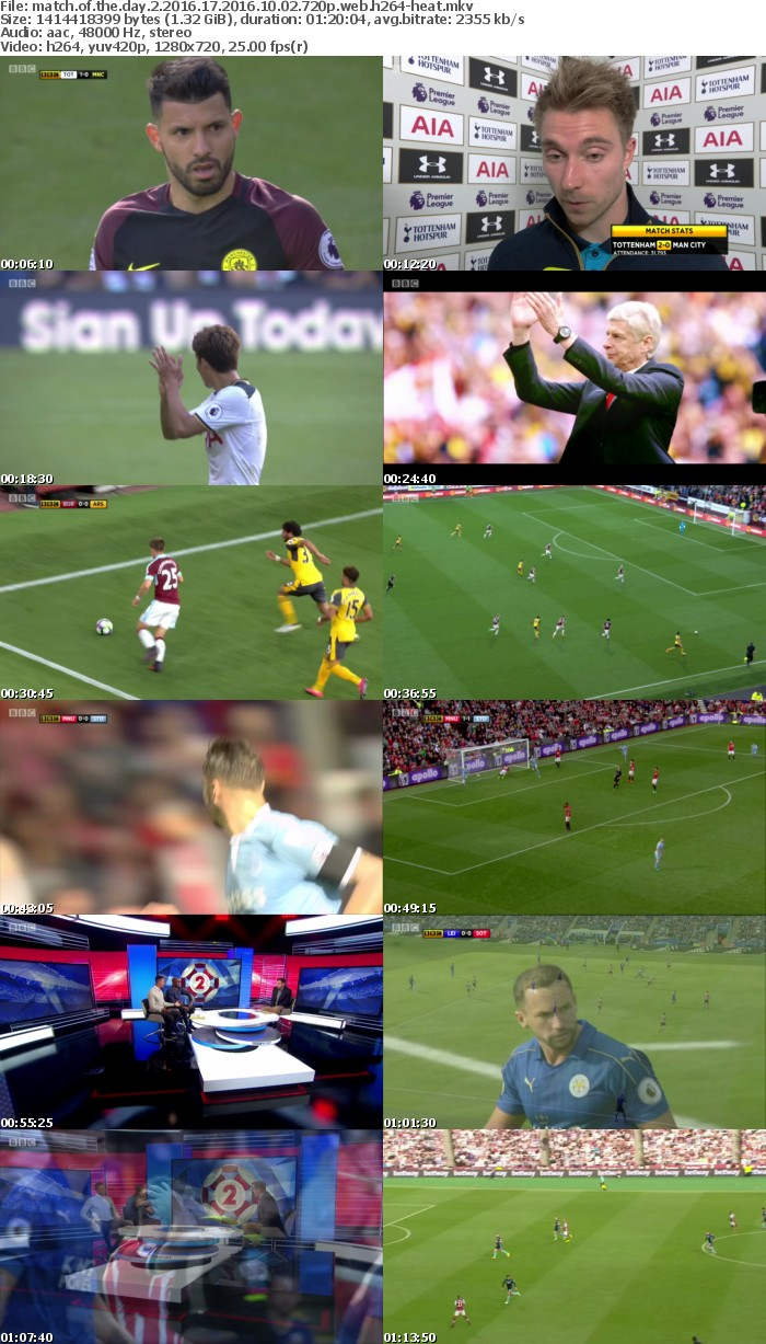 Match of the Day 2 2016 17 2016 10 02 720p WEB h264-HEAT