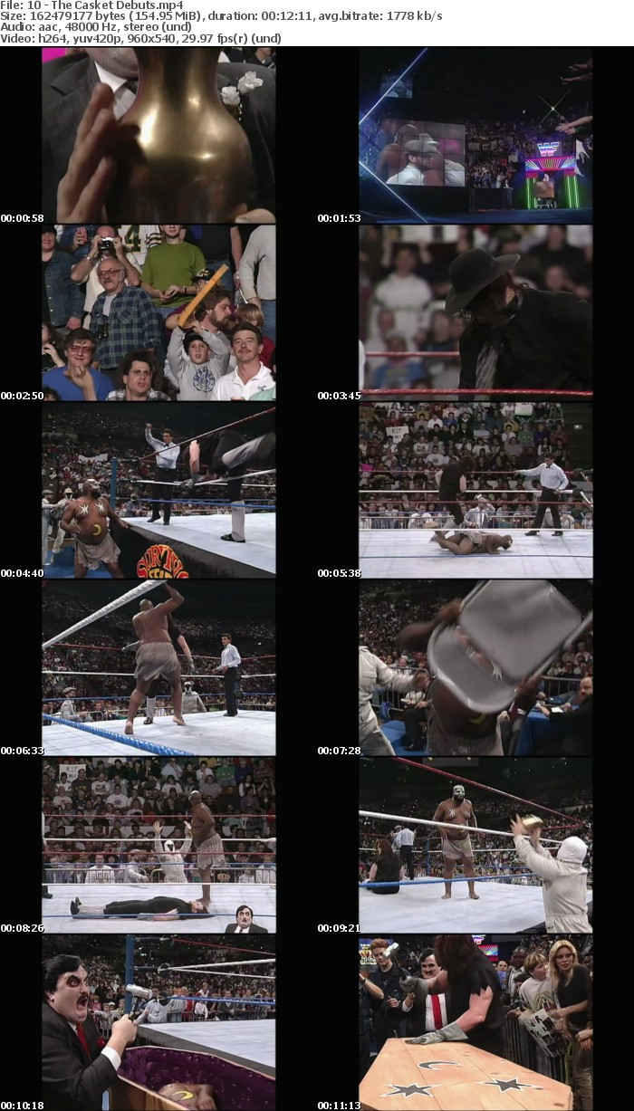 WWE Network Collection Gravest Matches Ever WEB h264-HEEL