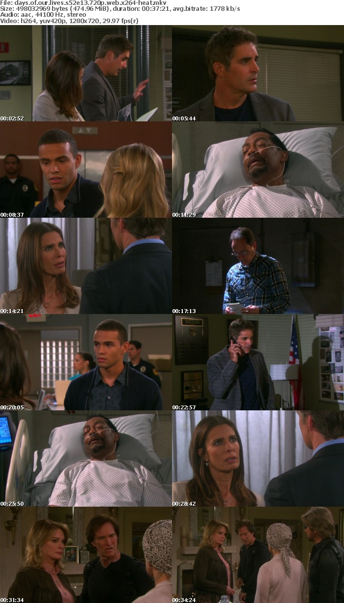 Days of our Lives S52E13 720p WEB x264-HEAT