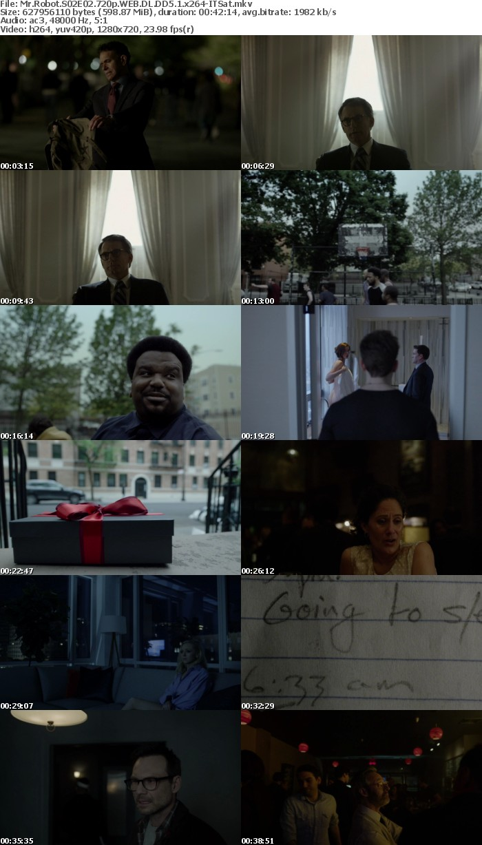 Mr Robot S01-S02 720p BluRay WEB DL DD5 1 x264-ITSat