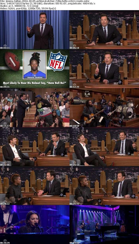 Jimmy Fallon 2016 10 05 Ashton Kutcher 720p HDTV x264-CROOKS