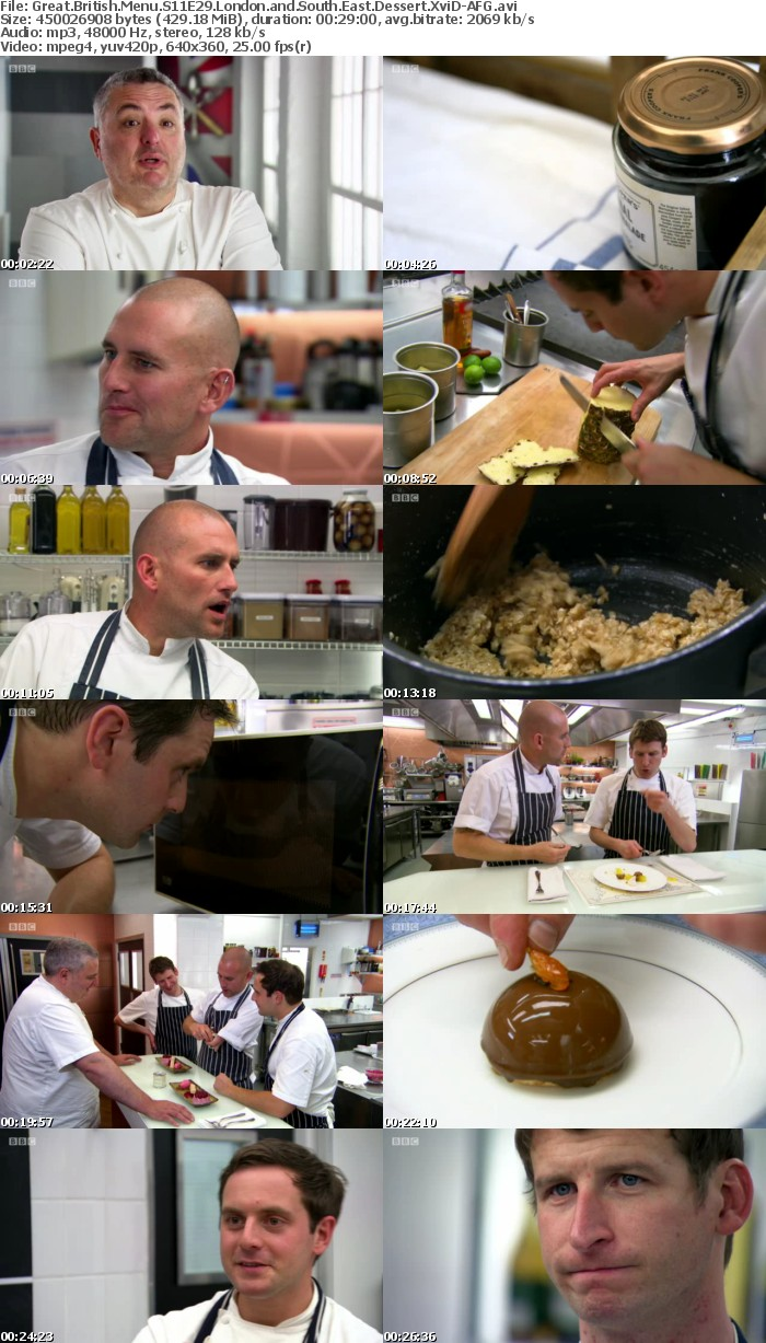 Great British Menu S11E29 London and South East Dessert XviD-AFG