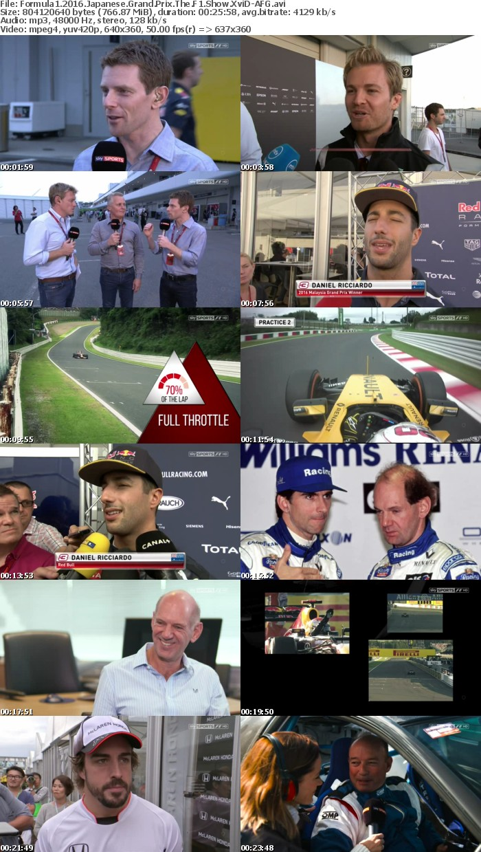 Formula1 2016 Japanese Grand Prix The F1 Show XviD-AFG