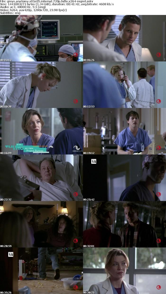 Greys Anatomy S01E05 iNTERNAL 720p HDTV x264-REGRET