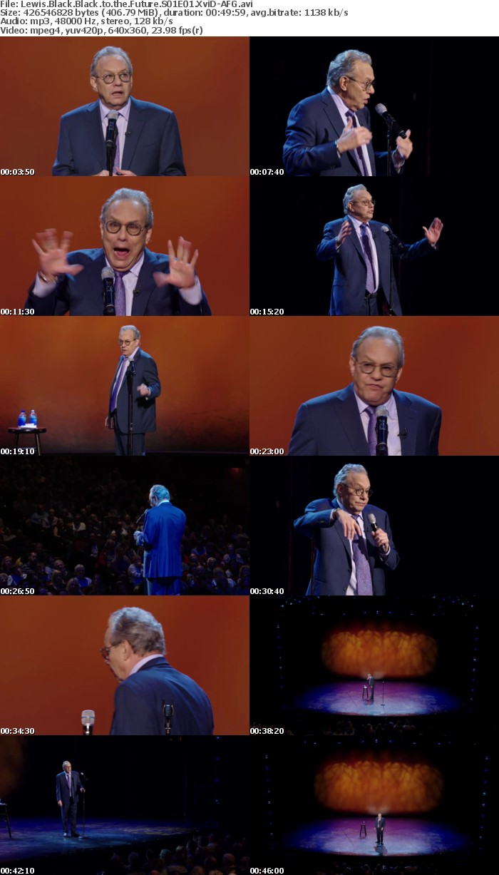 Lewis Black Black to the Future S01E01 XviD-AFG