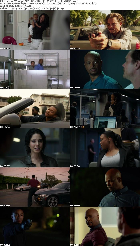 Lethal Weapon S01E04 720p HDTV X264-DIMENSION