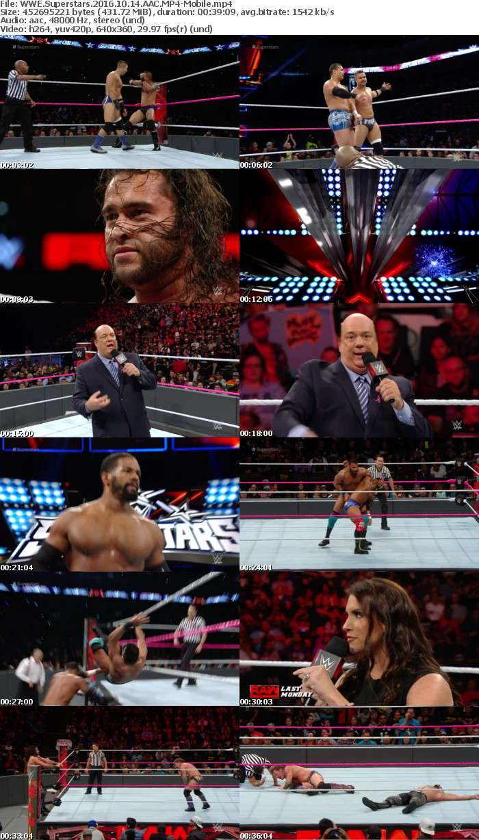 WWE Superstars 2016 10 14 AAC-Mobile