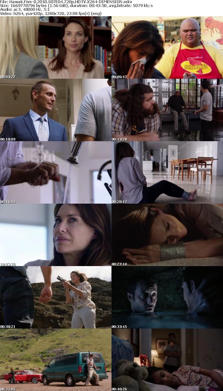 Hawaii Five-0 2010 S07E04 720p HDTV X264-DIMENSION