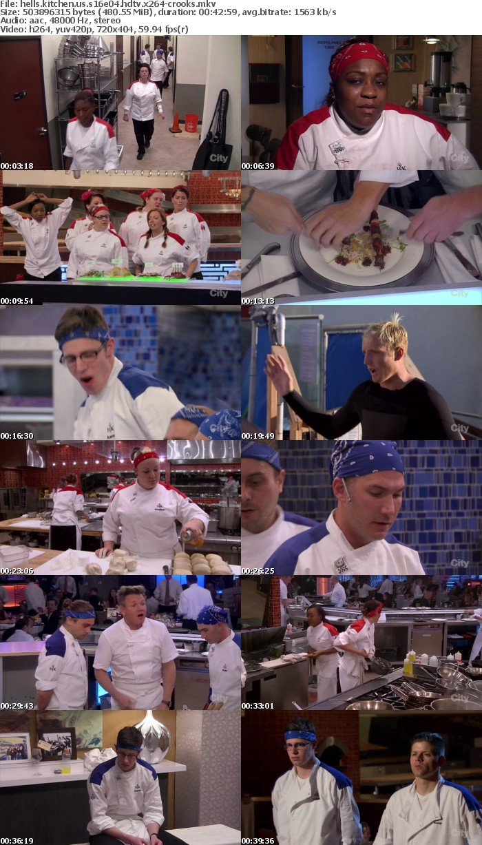 Hells Kitchen US S16E04 HDTV x264-CROOKS