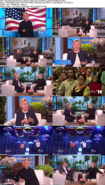 The Ellen DeGeneres Show 2016 10 14 HDTV x264-ALTEREGO