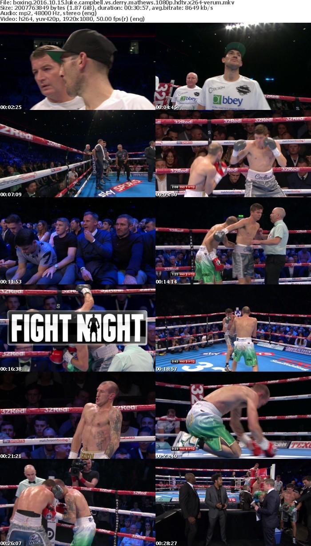Boxing 2016 10 15 Luke Campbell vs Derry Mathews 1080p HDTV x264-VERUM