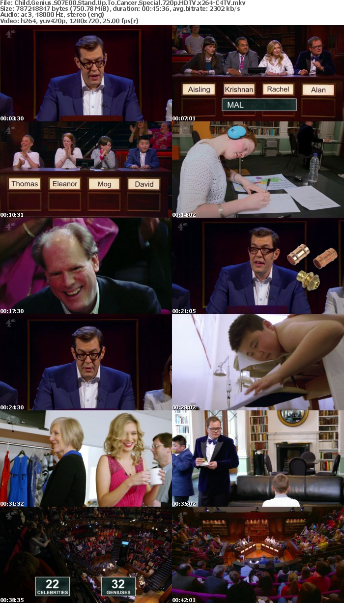 Child Genius S07E00 Stand Up To Cancer Special 720p HDTV x264-C4TV