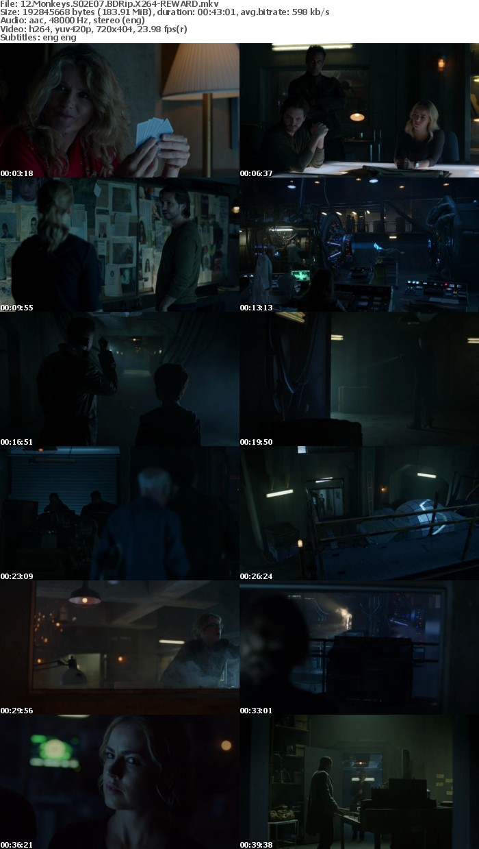 12 Monkeys S02 BDRip X264-REWARD