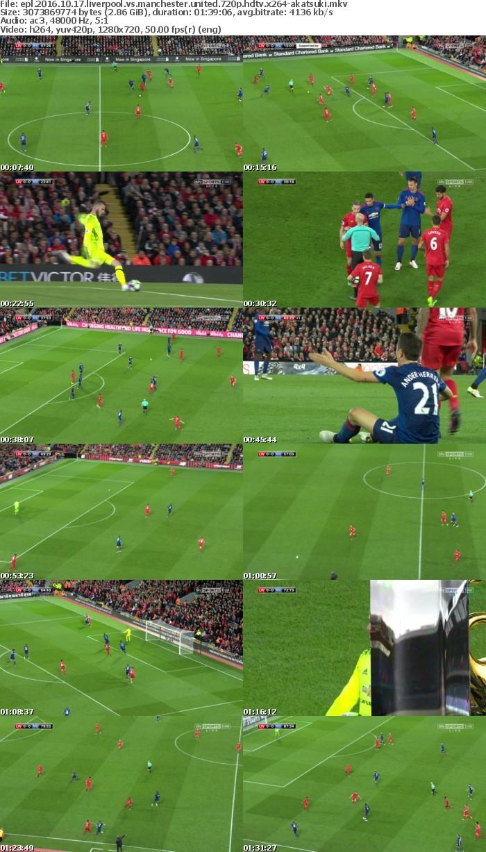 EPL 2016 10 17 Liverpool Vs Manchester United 720p HDTV x264-AKATSUKi