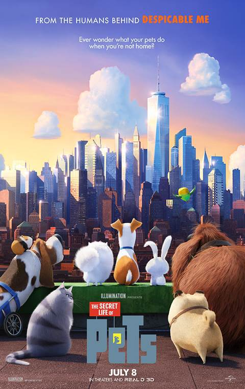 The Secret Life of Pets 2016 3D 720p BluRay x264-PussyFoot