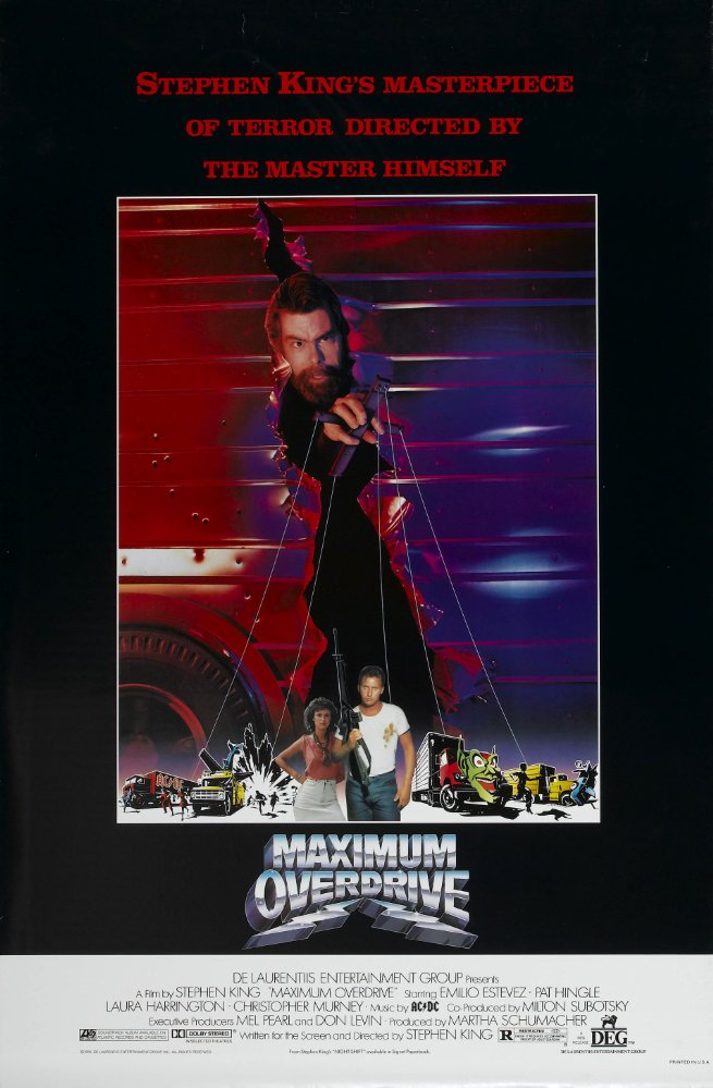 Stephen King Maximum Overdrive 1986 1080p BluRay