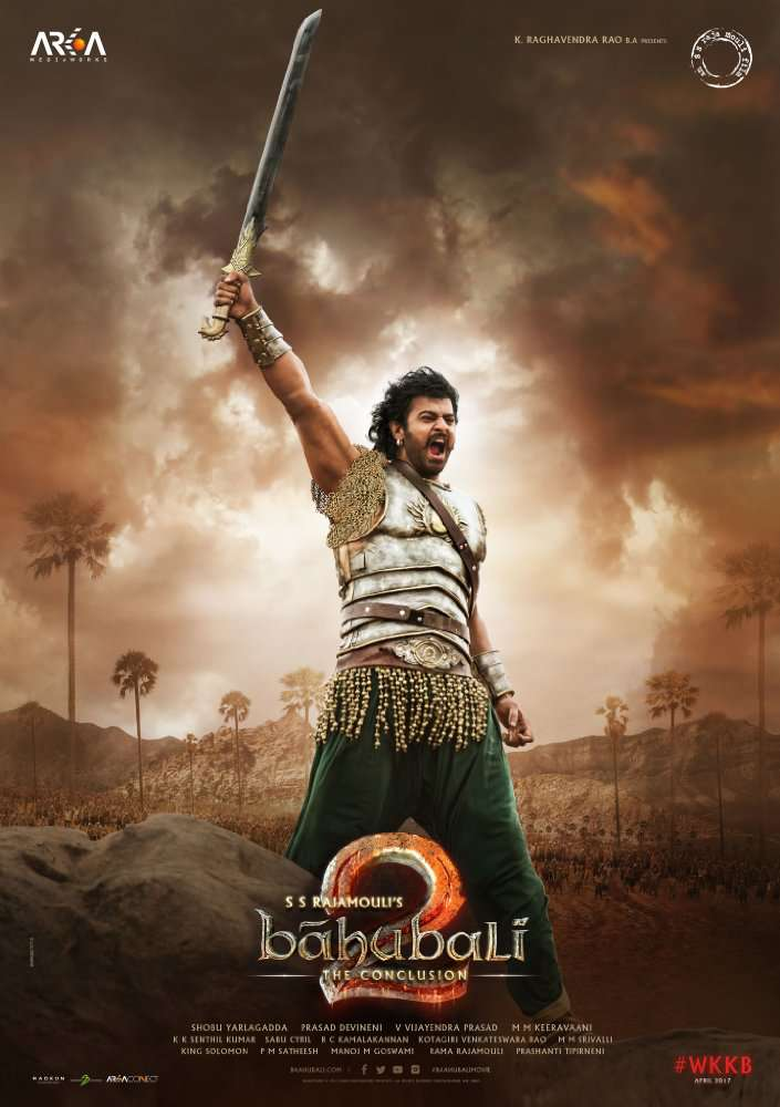 Bahubali 2 2017 1CD DesiPDvD Rip  x265 AAC Audio Cleaned  DUS