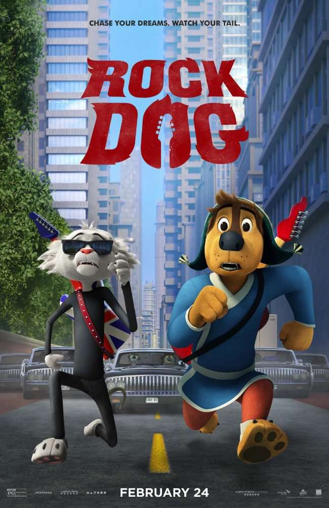 Rock Dog 2016  BRRIP 750MB  NBY