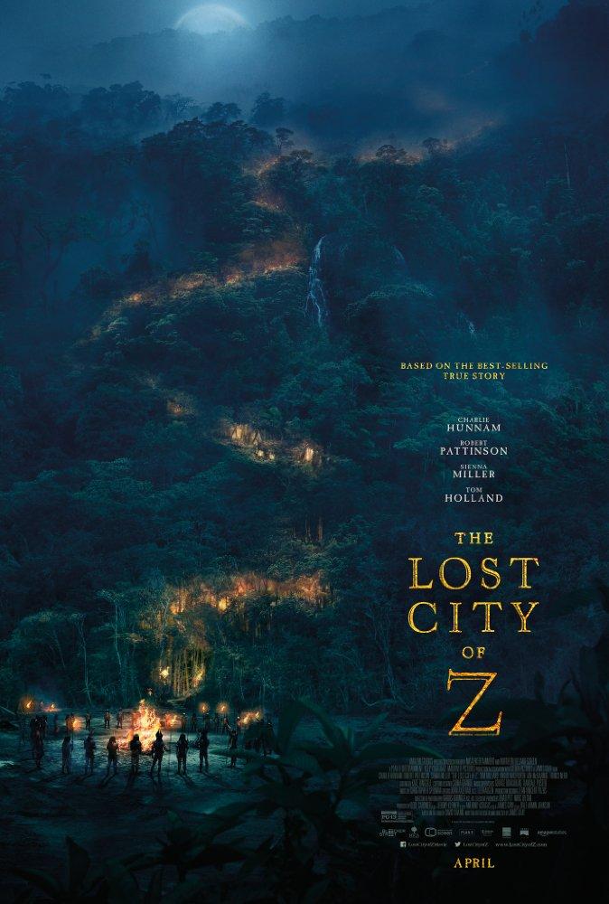 The Lost City of Z 2016  BRRiP DD5 1 x264LEGi0N