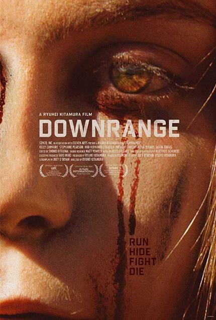 Downrange (2017) 720p BRRip x264 650 MB-iExTV