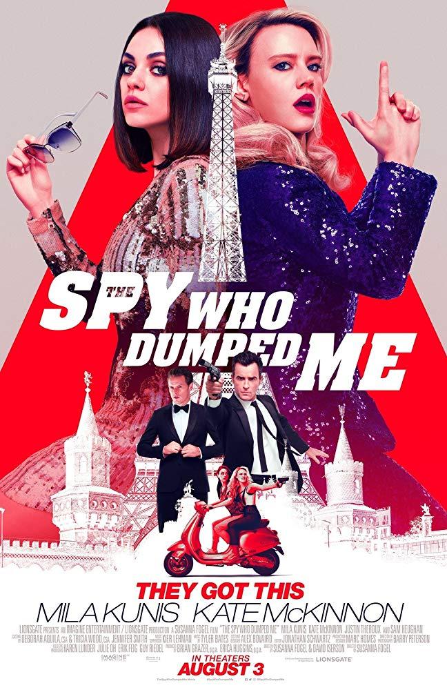 The Spy Who Dumped Me 2018 720p BRRip x264 AAC - Hon3yHD