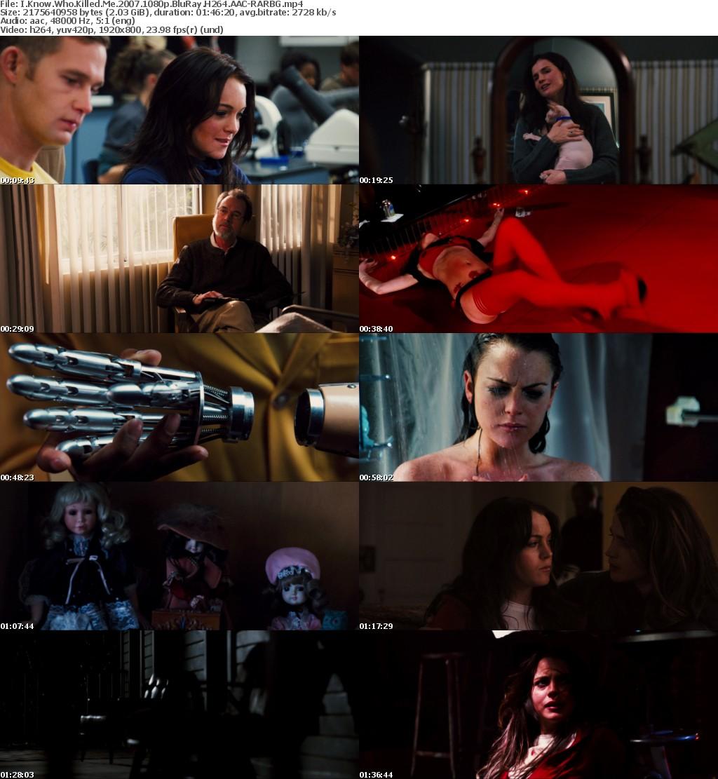 I Know Who Killed Me (2007) 1080p BluRay H264 AAC-RARBG